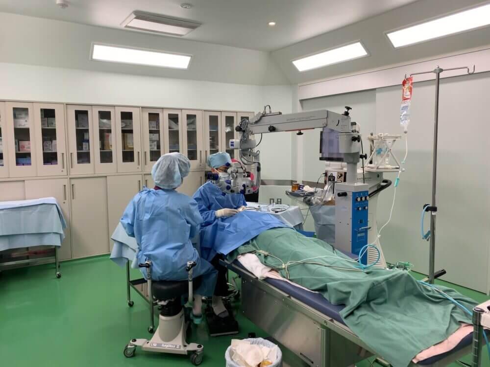 にった眼科では白内障日帰り手術を10000件以上行っています。